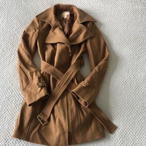 Michael Kors Camel Trench Coat